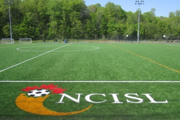 Play on the artificial turf at the Richcraft Centre